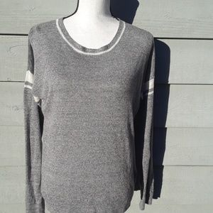 Madewell 100% linen long sleeve sweater